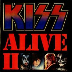 classic Kiss double album first pressing Kiss Alive II live recording LPs vinyl albums with cover sleeves collectors vinyl addicts record lovers from my private collection Kiss Album Covers, Rock Album Covers, Tom Berenger, Black Sabbath, Extended Play, Iron Maiden, Kiss Alive Ii, Lp Vinyl, Vinyl Records