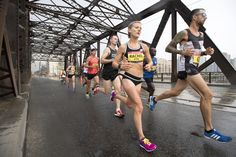 Rachel Hannah and Eric Gillis lining up with elites at 2017 Boston Marathon The countdown for the 2017 Boston Marathon is on. This year, two of Canada's favourite elites will be lining up on the blue and yellow startlin