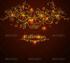 Hand Drawn Halloween Background  #GraphicRiver         Hand drawn vector Halloween background with pumpkins. Zip file contains fully editable EPS10 vector file and high resolution RGB Jpeg image.     Created: 17September13 GraphicsFilesIncluded: JPGImage #VectorEPS Layered: Yes MinimumAdobeCSVersion: CS Tags: autumn #backdrop #background #black #card #decorative #design #doodle #festival #floral #halloween #holiday #horror #nature #orange #plant #pumpkin #scary #shining #swirl #vector