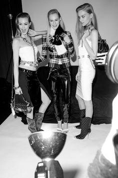 Backstage Versace 2013 RTW Hrisskas style   http://www.hrisskas.com/social-gallery/backstage-versace-2013-rtw-hrisskas-style-2