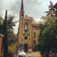 Bellesguard Gaudí in Barcelona, Cataluña
