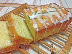 Lemon and Rosemary Olive Oil Cake #STAROliveOil