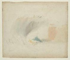 Joseph Mallord William Turner 1775–1851 ?Land's End c.1834 via