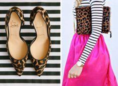 fashion inspiration: stripes & leopard   Marcus Design