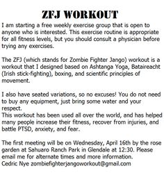 19 Best Zombie Fighter Jango Workout images in 2015 ...