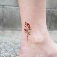 양귀비와 들꽃의 작은 부케화려함과 순수함을 함께 간직한 그녀만을 위한 꽃다발:) 검은 반점을 가린 커버...