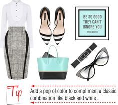Classic with a Twist Office Attire - Be So Good They Can't Ignore You  http://toyastales.blogspot.com/2013/02/classic-with-twist-office-attire-be-so.html