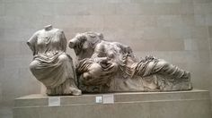 Photo Mug-Three Goddesses. Hestia, Dione and Aphrodite. East Pediment-Ceramic dishwasher safe mug made in the UK Roman Sculpture, Sculpture Art, Sculptures, Statues, Elgin Marbles, Fine Art Prints, Canvas Prints, Ancient Greece, Aphrodite