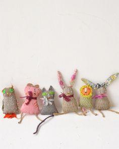 Fabric Animal Toys - Apolline  Paris