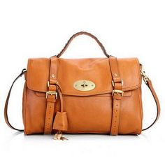 Wonderful Mulberry Women Standard Alexa Leather Satchel Bag Camel For 78e25b2ebf716