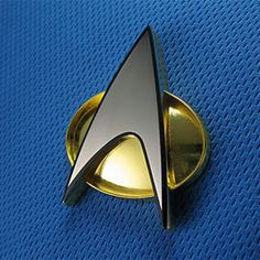 If you're on Team Picard, you'll want an officially licensed communicator badge to wear with your uniform. This badge was crafted from one of the only remaining sets of original molds from the TV series, so the size and shape are exactly the same.