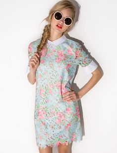 Elie lace collar dress  pixiemarket  fashion  pixiemarket Lace Collar a0db9ca96