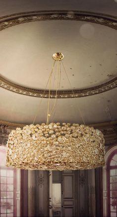 Eternity Chandelier By Koket - http://www.bykoket.com/guilty-pleasures/lighting/eternity-chandelier.php