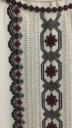 Т Shirt Embroidery, Beaded Embroidery, Embroidery Designs, Crochet Cardigan, Sewing Hacks, Crochet Projects, Cross Stitch Patterns, Bohemian Rug, Needlework