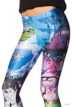 Peter Pan Leggings (WW $85AUD / US $80USD) by Black Milk Clothing