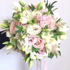 If you're planning on having your wedding in a church, you need to consider the best wedding flowers for your venue. That way, you can add a magical and romantic touch to your special day. You will have an easy time choosing church wedding flowers to. Bridal Bouquet Pink, Bride Bouquets, Bridal Flowers, Flower Bouquets, Floral Wedding, Fall Wedding, Wedding Ceremony, Elegant Wedding, Wedding Ideas