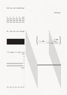 You Said Something Poster, 2016 by Manita Songserm