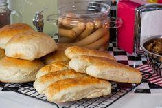 #TescoParty - American Retro Party - bułki do hot dogów - hot dog buns