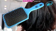 "Luxor Pro -THE WET BRUSH ""paddle edition "" DETANGLING HAIR BRUSH _ blue"