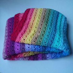 Double rainbow blanket for a very special double rainbow baby Rainbow Baby, Crochet Patterns, Blanket, Blankets, Crochet Granny, Carpet, Crochet Stitches, Crocheting Patterns, Shawl Patterns