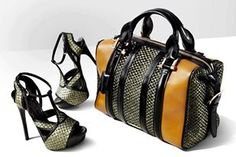 matching handbag and shoes for me
