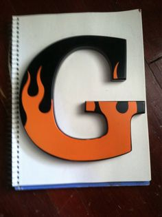 Harley Davidson Wood Letter Letter G by PaperPragmatist on Etsy - Wood Letters Harley Davidson Birthday, Harley Davidson Gifts, Harley Davidson Motorcycles, Biker Party, Motorcycle Baby, Harley Davison, Letter G, 60th Birthday Party, Wood Letters
