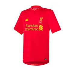 Liverpool FC New Balance 2016 Replica Home Jersey - Red