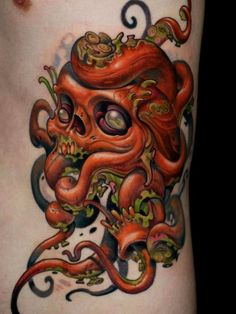 ... forms and representations form the new school art form of tattooing
