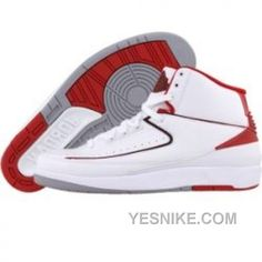superior quality 3e162 db63e Buy Big Discount Nike Air Jordan 2 II Retro Baskets Blanc Rouge from  Reliable Big Discount Nike Air Jordan 2 II Retro Baskets Blanc Rouge  suppliers.Find ...