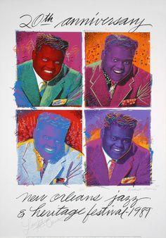 New Orleans Jazz & Heritage Fesitval Posters - 1989