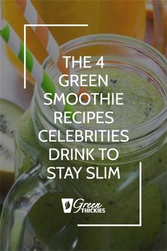 I'm so excited to share the secret green smoothie recipes celebrities are drinking to stay slim. These recipes will help you get the same kind of results. Green Smoothie Cleanse, Green Detox Smoothie, Green Smoothie Recipes, Green Smoothies, Smoothie Bowl, Healthy Smoothies, Get Healthy, Healthy Food, Healthy Recipes