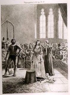 Dumas's Celebrated Crimes - 1895 - MARY STUART EXECUTION