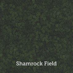 "Shamrock Field Print 20x20"" Pillow Case by SelemeHealth"