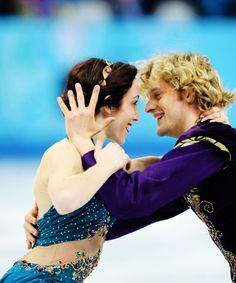 Meryl Davis & Charlie White. team skate, free dance. 2014 Winter Olympics. Sochi.