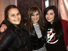 Jenni Rivera with JENICA Y JACKI