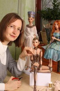 Sabine Vogel Doll Making Process