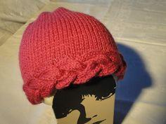 DSC01047 Bandeau Torsadé, Crochet Christmas Hats, Bonnet Crochet, Knitted Hats, Crochet Hats, Family Christmas, Beret, Baby Hats, Winter Hats
