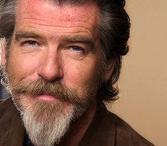 Proof that the crazy Dutch Van-Painter look can work. You just have to be Pierce Brosnan...