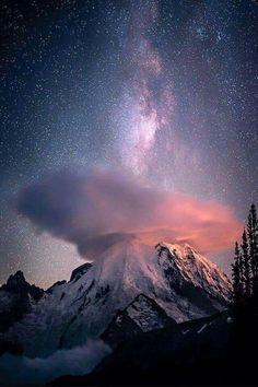 Milky Way & Rainier
