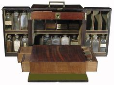 Rare Early English Apothecary Medical Cabinet Circa 1780-1820 For Sale   Antiques.com   Classifieds