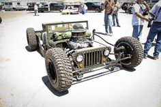 Rat Rod Flat Fender Jeep - Very Cool! - ADVrider