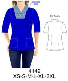 Delantales Scrubs Pattern, Corporate Uniforms, Dress Sewing Patterns, Diy Clothing, Plus Size, Filipina, Tambour, Crochet, Swimwear