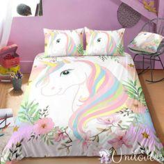 Grande A Todo Color Unicornio Alas Pegasus Adhesivo Pegatina Ni/ña Decoraci/ón de Dormitorio