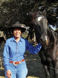 Art Lamely and Sue Hemming, two travelers who live, literally, to ride their horses. They did away with their homes and their home-based lifestyles about five to six years ago to tour the country, day after day, and year after year, by horse. Recently, Hemming learned she has cancer.