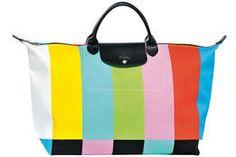 BolsoPliage, de la firma Longchamp, diseñador por Jeremy Scott