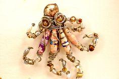Paper bead octopus
