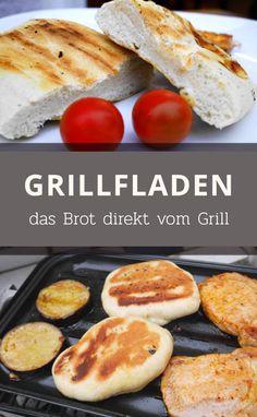 Knuspriges Brot zum Grillen. Schnell und einfach direkt vom Grill.