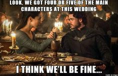 #GameOfThrones Poor Robb Had No Idea | Red Wedding Meme | Game Of Thrones Memes and Quotes