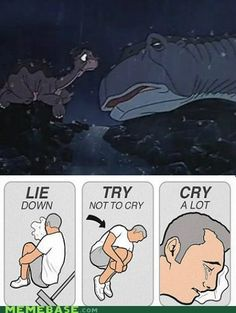 "Land Before Time...""I'll be with you..."" :'("