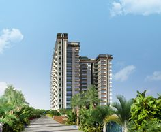Arial View of Luxury Apartment in Hennur Road - Arge Helios